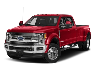 Race Red 2018 Ford Super Duty F-450 DRW Pictures Super Duty F-450 DRW Crew Cab XLT 4WD T-Diesel photos front view