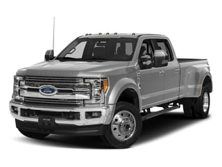 Ingot Silver Metallic 2018 Ford Super Duty F-450 DRW Pictures Super Duty F-450 DRW Crew Cab XLT 4WD T-Diesel photos front view