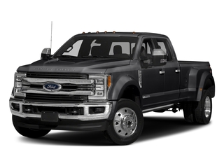 Shadow Black 2018 Ford Super Duty F-450 DRW Pictures Super Duty F-450 DRW Crew Cab King Ranch 2WD T-Diesel photos front view
