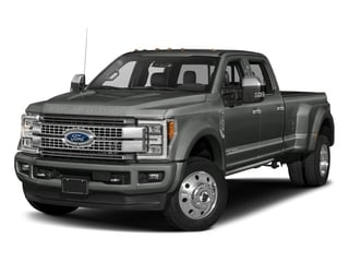 Magnetic Metallic 2018 Ford Super Duty F-450 DRW Pictures Super Duty F-450 DRW Platinum 2WD Crew Cab 8' Box photos front view