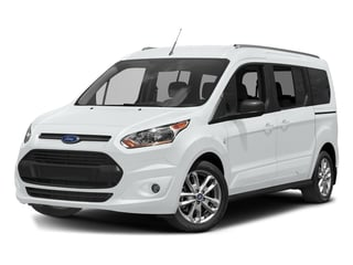 Frozen White 2018 Ford Transit Connect Wagon Pictures Transit Connect Wagon XLT SWB w/Rear Symmetrical Doors photos front view