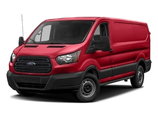 Race Red 2018 Ford Transit Van Pictures Transit Van T-150 130 Low Rf 8600 GVWR Swing-Out RH Dr photos front view