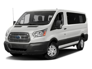 Oxford White 2018 Ford Transit Passenger Wagon Pictures Transit Passenger Wagon Passenger Van XLT Low Roof photos front view