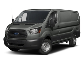 Magnetic Metallic 2018 Ford Transit Van Pictures Transit Van T-250 130 Low Rf 9000 GVWR Swing-Out RH Dr photos front view