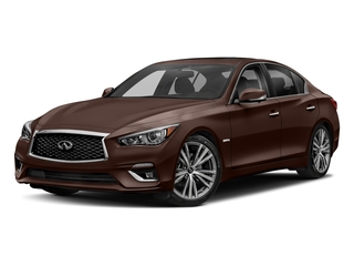 Mocha Almond 2018 INFINITI Q50 Pictures Q50 Hybrid LUXE AWD photos front view