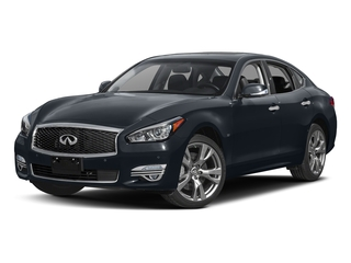 Hermosa Blue 2018 INFINITI Q70 Pictures Q70 3.7 LUXE RWD photos front view