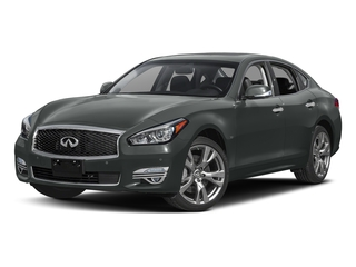 Graphite Shadow 2018 INFINITI Q70 Pictures Q70 3.7 LUXE RWD photos front view