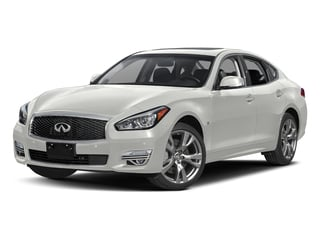 Majestic White 2018 INFINITI Q70 Pictures Q70 3.7 LUXE RWD photos front view