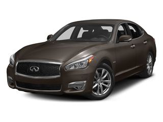 Chestnut Bronze 2018 INFINITI Q70 Pictures Q70 Hybrid LUXE RWD photos front view