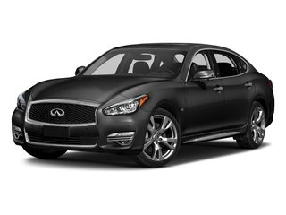 Black Obsidian 2018 INFINITI Q70L Pictures Q70L 3.7 LUXE AWD photos front view
