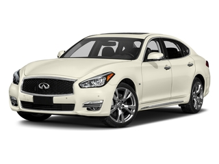 Majestic White 2018 INFINITI Q70L Pictures Q70L 3.7 LUXE AWD photos front view