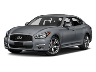 Hagane Blue 2018 INFINITI Q70L Pictures Q70L 3.7 LUXE AWD photos front view