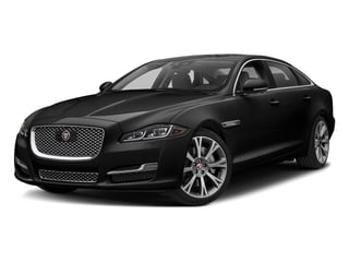 Farallon Black Premium Metallic 2018 Jaguar XJ Pictures XJ XJL Portfolio RWD photos front view