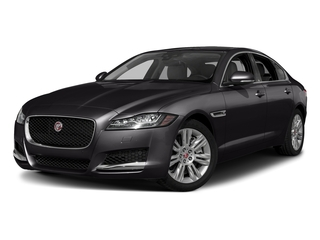 Santorini Black Metallic 2018 Jaguar XF Pictures XF Sedan 20d Premium RWD photos front view