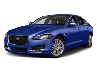Caesium Blue Metallic 2018 Jaguar XF Pictures XF Sedan 35t Premium RWD *Ltd Avail* photos front view