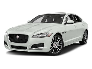 Fuji White 2018 Jaguar XF Pictures XF Sedan 25t Prestige AWD photos front view