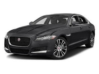 Narvik Black 2018 Jaguar XF Pictures XF Sedan 25t Prestige RWD photos front view