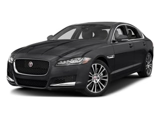 Narvik Black 2018 Jaguar XF Pictures XF Sedan 25t Prestige AWD photos front view