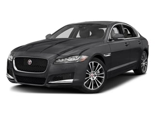 Carpathian Grey 2018 Jaguar XF Pictures XF Sedan 25t Prestige AWD photos front view
