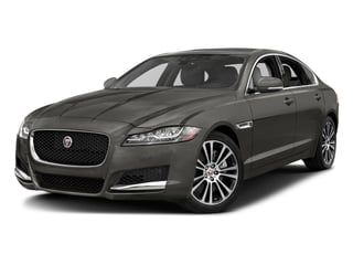 Silicon Silver 2018 Jaguar XF Pictures XF Sedan 25t Prestige AWD photos front view