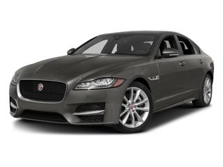Silicon Silver 2018 Jaguar XF Pictures XF Sedan 4D 20d R-Sport photos front view