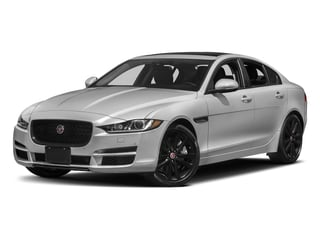 Silicon Silver 2018 Jaguar XE Pictures XE 25t Prestige AWD photos front view