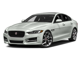 Fuji White 2018 Jaguar XE Pictures XE 25t R-Sport AWD photos front view