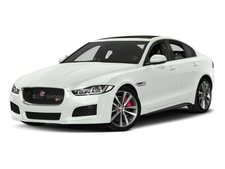 Fuji White 2018 Jaguar XE Pictures XE Sedan 4D S AWD photos front view