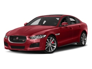 Firenze Red 2018 Jaguar XE Pictures XE Sedan 4D S AWD photos front view