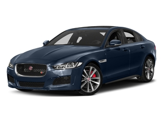 Loire Blue 2018 Jaguar XE Pictures XE Sedan 4D S AWD photos front view