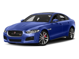 Caesium Blue 2018 Jaguar XE Pictures XE Sedan 4D S AWD photos front view