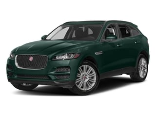 British Racing Green Metallic 2018 Jaguar F-PACE Pictures F-PACE 20d Premium AWD photos front view