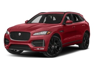 Firenze Red Metallic 2018 Jaguar F-PACE Pictures F-PACE Utility 4D 20d R-Sport AWD photos front view