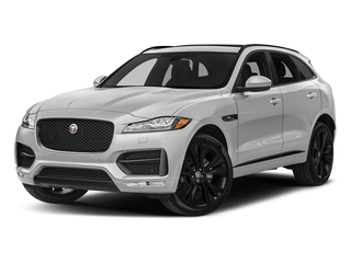 Yulong White Metallic 2018 Jaguar F-PACE Pictures F-PACE Utility 4D 20d R-Sport AWD photos front view