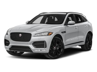 Yulong White Metallic 2018 Jaguar F-PACE Pictures F-PACE 20d R-Sport AWD photos front view
