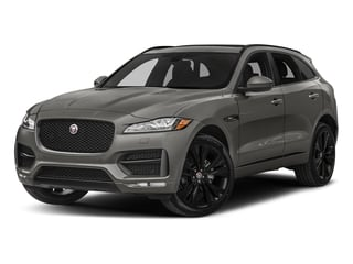 Silicon Silver 2018 Jaguar F-PACE Pictures F-PACE 20d R-Sport AWD photos front view