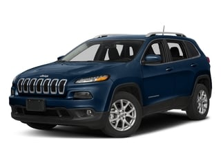 Patriot Blue Pearlcoat 2018 Jeep Cherokee Pictures Cherokee Utility 4D Latitude Plus 4WD photos front view