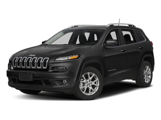Diamond Black Crystal Pearlcoat 2018 Jeep Cherokee Pictures Cherokee Utility 4D Latitude Plus 4WD photos front view