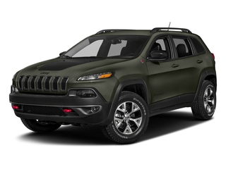 Olive Green Pearlcoat 2018 Jeep Cherokee Pictures Cherokee Utility 4D Trailhawk 4WD photos front view