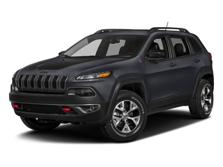 Rhino Clearcoat 2018 Jeep Cherokee Pictures Cherokee Utility 4D Trailhawk 4WD photos front view