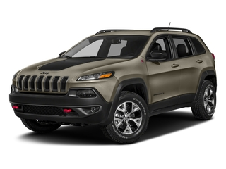 Light Brownstone Pearlcoat 2018 Jeep Cherokee Pictures Cherokee Utility 4D Trailhawk 4WD photos front view