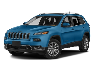 Hydro Blue Pearlcoat 2018 Jeep Cherokee Pictures Cherokee Utility 4D Limited 2WD photos front view