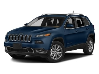 Patriot Blue Pearlcoat 2018 Jeep Cherokee Pictures Cherokee Utility 4D Limited 2WD photos front view
