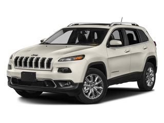 Pearl White Clearcoat 2018 Jeep Cherokee Pictures Cherokee Utility 4D Limited 2WD photos front view