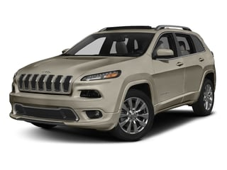 Light Brownstone Pearlcoat 2018 Jeep Cherokee Pictures Cherokee Utility 4D Overland 4WD photos front view