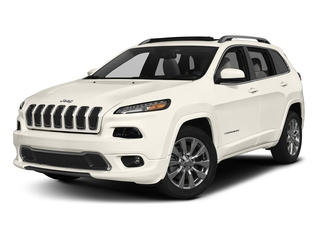 Pearl White Clearcoat 2018 Jeep Cherokee Pictures Cherokee Utility 4D Overland 2WD photos front view