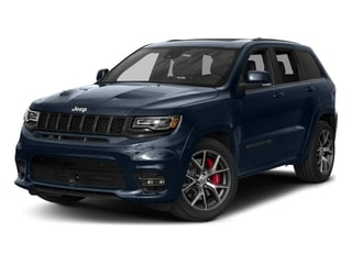 True Blue Pearlcoat 2018 Jeep Grand Cherokee Pictures Grand Cherokee Utility 4D SRT-8 4WD photos front view