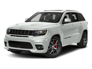 Bright White Clearcoat 2018 Jeep Grand Cherokee Pictures Grand Cherokee Utility 4D SRT-8 4WD photos front view