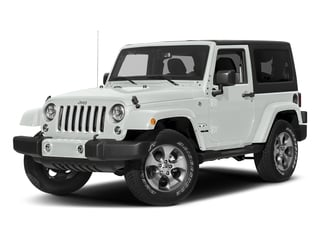 Bright White Clearcoat 2018 Jeep Wrangler JK Pictures Wrangler JK Sahara 4x4 photos front view