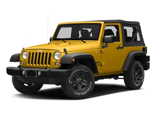 Baja Yellow Clearcoat 2018 Jeep Wrangler JK Pictures Wrangler JK Utility 2D Sport 4WD photos front view
